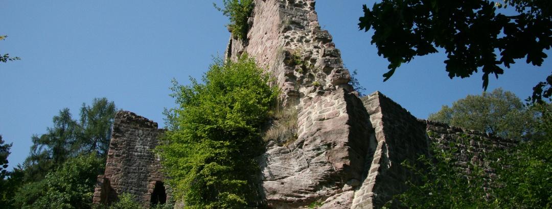 Burgruine Waldeck bei Calw-Stammheim