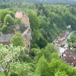 Die Burg Pottenstein!