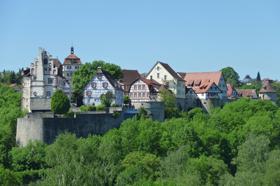 Blick auf Vellberg  - @ Autor: Beate Philipp  - © Quelle: Hohenlohe + Schwäbisch Hall Tourismus e.V.