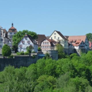 Blick auf Vellberg