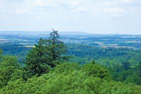 Blick vom Burgbergturm  - @ Autor: Dr.Konrad Lechner  - © Quelle: Hohenlohe + Schwäbisch Hall Tourismus e.V.