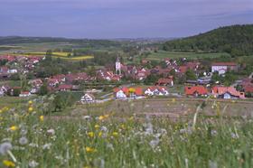 Blick auf Bühlerzell  - @ Autor: Beate Philipp  - © Quelle: Hohenlohe + Schwäbisch Hall Tourismus e.V.