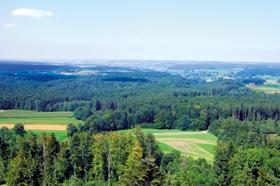 Blick vom Altenbergturm  - @ Autor: Beate Philipp  - © Quelle: Hohenlohe + Schwäbisch Hall Tourismus e.V.