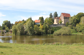 Schloss Rechenberg  - @ Autor: Beate Philipp  - © Quelle: Hohenlohe + Schwäbisch Hall Tourismus e.V.