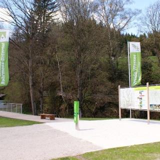 Hiking Trail head, village of Untertal