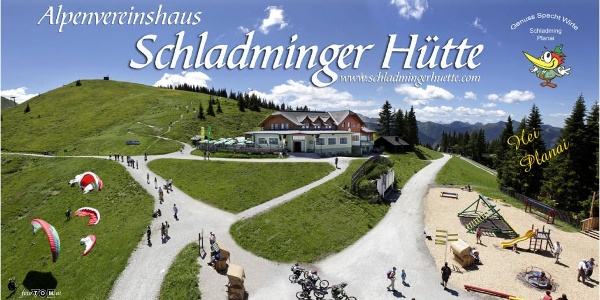 Schladminger Hütte mountain chalet on Planai
