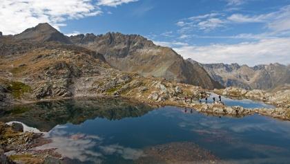 Klafferkessel Seenplatte in den Schladminger Tauern