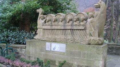 Weinschiff in Neumagen-Dhron