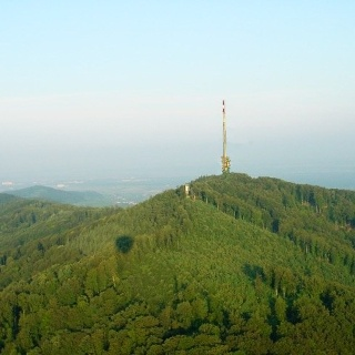 Der Totenkopf (556 m) ist die höchste Erhebung im Kaiserstuhl