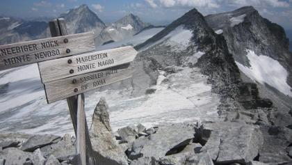 Vom Jöchl kurz unterhalb des Gipfels ist auch der Magerstein relativ unschwierig zu erreichen