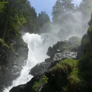 Kleiner Riesachwasserfall - Untertal, Schladminger Tauern