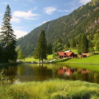 Wehrhofalm, Obertal valley