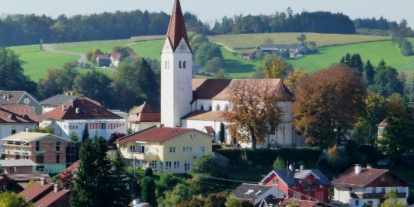 Isen mit Pfarrkirche St. Zeno