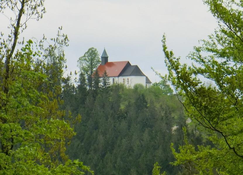 Zum Hörnleberg und den Wasserfällen