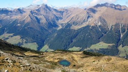 Blick auf die westlichen Sarner Berge