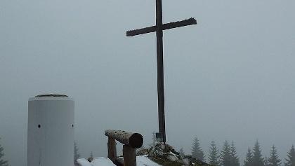 Große Scheibe - Gipfelkreuz