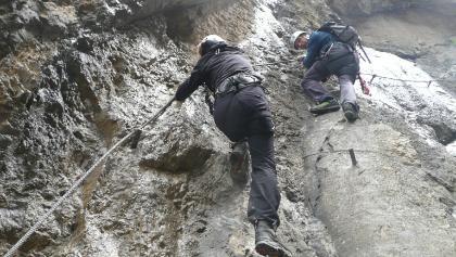 Klettersteig Lienz : Galitzenklamm klettersteig dopamin u aktuelle bedingungen