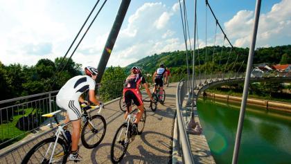 Radfahren sportlich