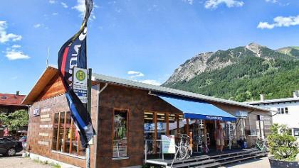 Start der Tour beim NTC Center an der Nebelhornbahn