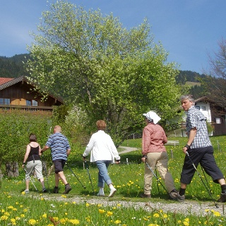 Nordic Walking in Bolsterlang
