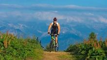 Radtour durchs Bolgental zum Schwabenhaus bei Bolsterlang