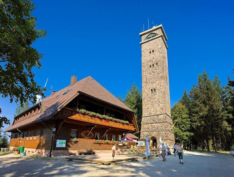 Etappenweg Ferienlandschaft Mittlerer Schwarzwald - von Zell a. H. auf den Brandenkopf