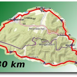 Übersichtsbild Steinbachtal Tour