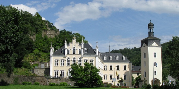 Schloss Sayn Bendorf, Westerwald-Rhein-Radweg