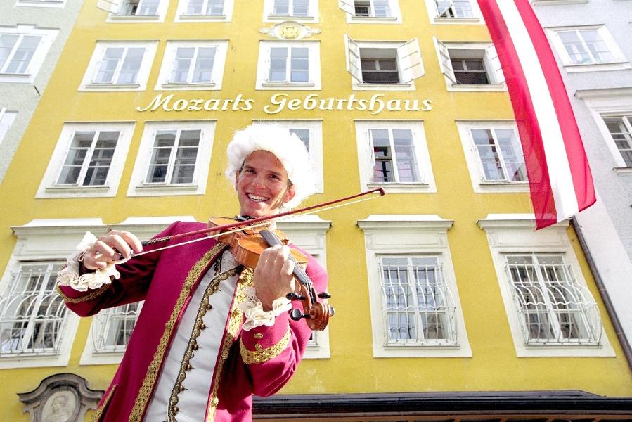 Mozart Radweg - Gesamtverlauf