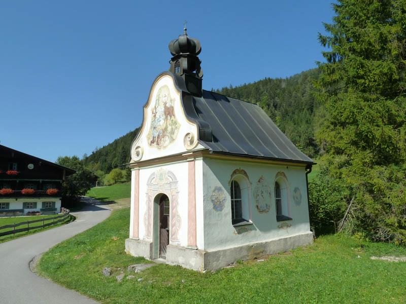 Rund um den Schwarzenberg - Kapelle bei Wildgrub