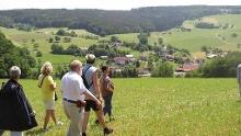 Beerfelden: Nordic Walking Tour - Von Falken-Gesäß auf den Leichenbuckel