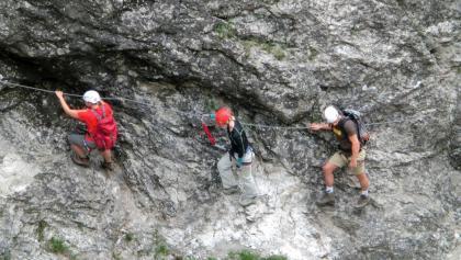 Am Hausbachfall-Klettersteig