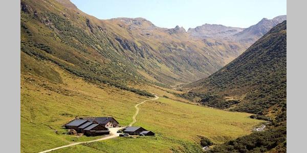 Alpe Vergalden in Gargellen