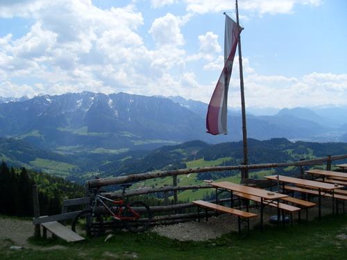 Ausblick vom Spitzsteinhaus-©Quelle: Tourist Info Aschau i.Chiemgau