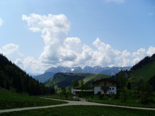 Blick von der Priener Hütte