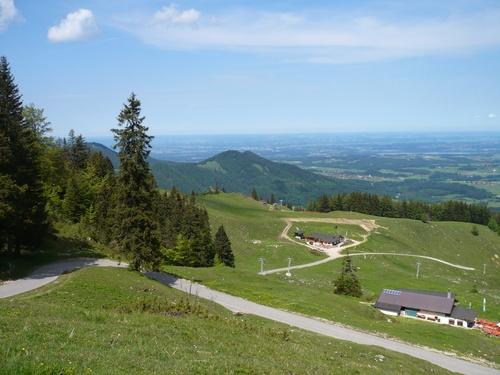 Mit dem Mountainbike von Aschau auf die Kampenwand - leichte Variante