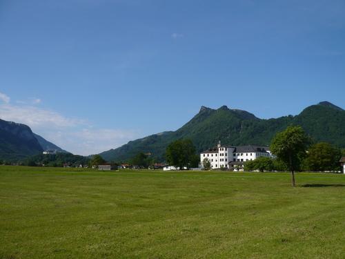 Richtung Bernau mit Blick auf das Zellerhorn
