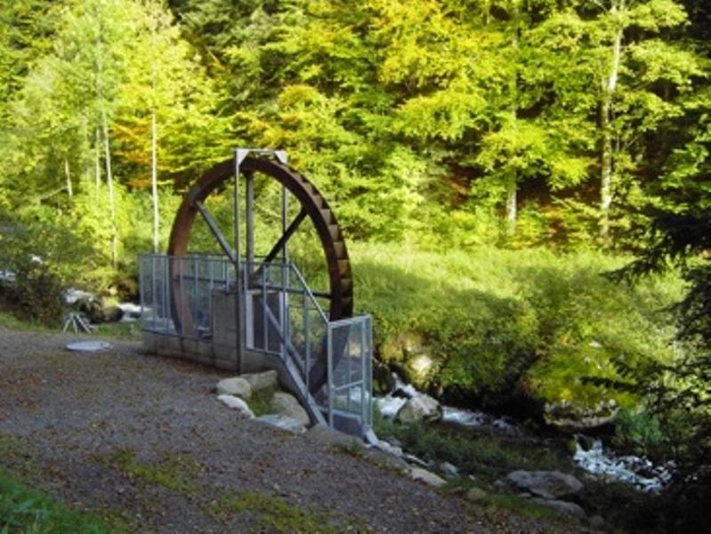 Rickenbach: Mit der Wasserkraft am Wegesrand