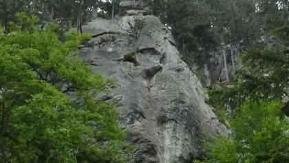 Felsformationen Große Klause