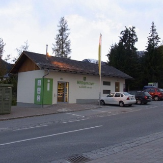 Information point, village of Rohrmoos