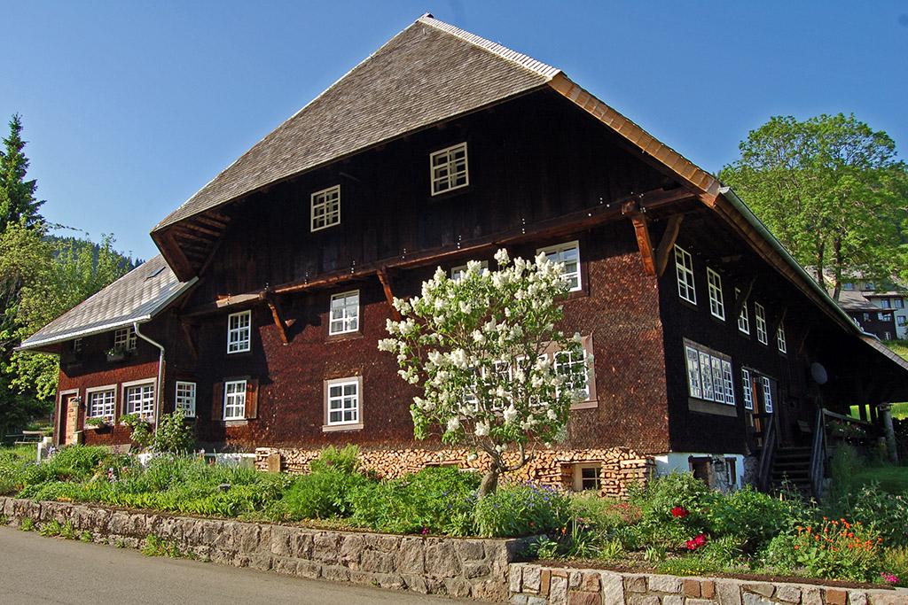 Bernau Blick auf den Naglerhof - Ältester Bauernhof im Bernauer Hochtal