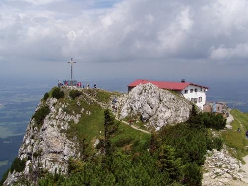 Der Gipfel des Hochfelln.