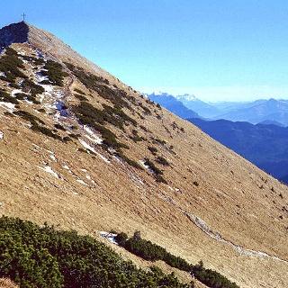 Das Hintere Sonnwendjoch 1986 m, Bayerische Voralpen