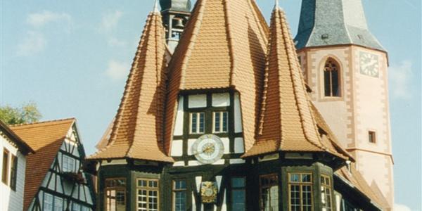 Rathaus von Michelstadt