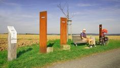 Die Route bei Roßdorf