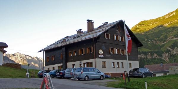 Das Edelweißhaus in Kaisers.