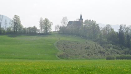 Die Wallfahrtskirche Frauenstein.