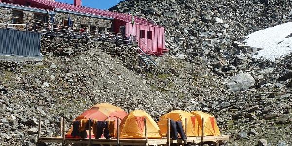 Glungezerhütte Base Camp
