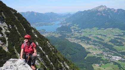 Klettersteig Katrin : Klettersteig beschreibung katrin