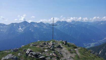 Der Peilstein, der erste Gipfel auf dieser Tour.